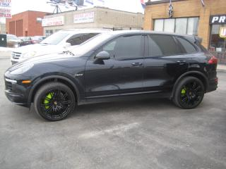 Used 2015 Porsche Cayenne AWD ONE OWER 21SPORT WHEELS LEATHER DASH  AND MUCH for sale in North York, ON