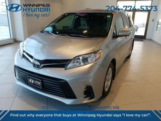 Used 2019 Toyota Sienna LE Cloth/Power Seat/Satellite Radio/Back Up Camera/Bluetooth for sale in Winnipeg, MB
