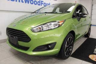 Used 2018 Ford Fiesta 3 months deferral ! *oac | hatchback | FWD | SE Black Pkg | Rear Camera | Remote Starter for sale in Edmonton, AB