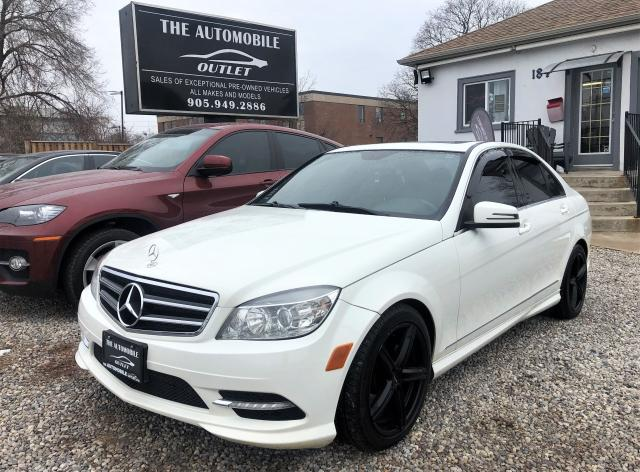 2011 Mercedes-Benz C250 C 250 4matic AWD CERTIFIED LEATHER SUNROOF