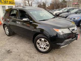Used 2009 Acura MDX NAVI/ BACK UP CAM/ LEATHER/ SUNROOF/ ALLOYS & MORE for sale in Scarborough, ON