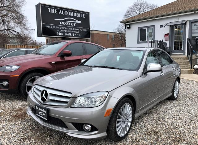2009 Mercedes-Benz C230 2.5L CERTIFIED LOW KMS LEATHER BLUETOOTH