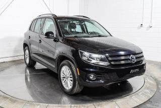 Used 2016 Volkswagen Tiguan SPECIAL EDITION 4 MOTION TOIT PANO MAGS for sale in St-Hubert, QC