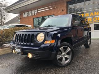 Used 2016 Jeep Patriot High Altitude 4WD Sunroof Heated Seats Alloys Cer* for sale in Concord, ON