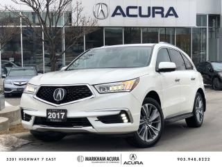 Used 2017 Acura MDX Elite for sale in Markham, ON