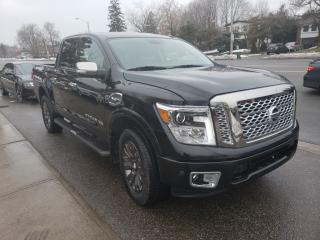Used 2017 Nissan Titan 4WD Crew Cab  Platinum Reserve | LEATHER for sale in Toronto, ON