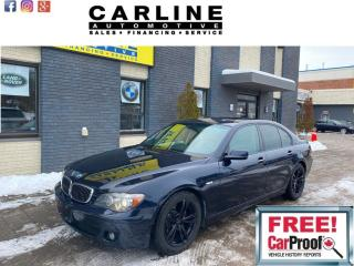 Used 2008 BMW 7 Series 4dr Sdn 750i for sale in Nobleton, ON