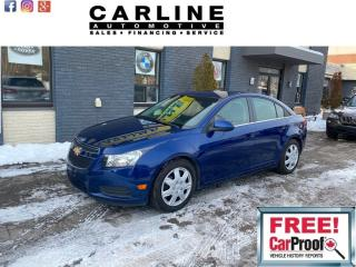 Used 2012 Chevrolet Cruze 4dr Sdn LT Turbo w/1SA for sale in Nobleton, ON
