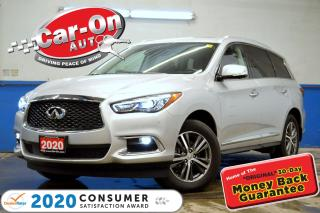 Used 2020 Infiniti QX60 Essential AWD 7 SEAT LEATHER NAV REAR CAM LOADED for sale in Ottawa, ON