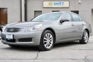 Used 2007 Infiniti G35X AWD HEATED SEATS, EXCEPTIONAL CONDITION, NO ACCIDENTS OR CLAIMS! for sale in Burlington, ON