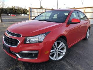 Used 2015 Chevrolet Cruze 2LT RS 2WD for sale in Cayuga, ON