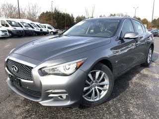 Used 2014 Infiniti Q50 Premium AWD for sale in Cayuga, ON