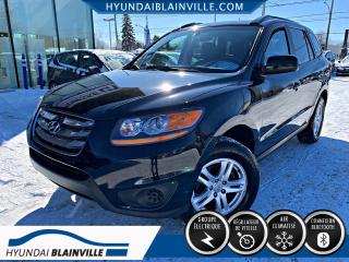 Used 2010 Hyundai Santa Fe GL DÉMARREUR DISTANCE, BLUETOOTH, A/C, C for sale in Blainville, QC