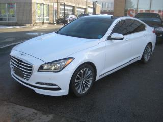 Used 2016 Hyundai Genesis Sedan PREMIUM*AWD*LEATHER*NAVIGATION*PANOROOF*MUCH MORE for sale in North York, ON