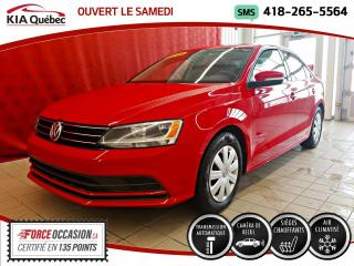 Used 2016 Volkswagen Jetta TRENDLINE* 1.4 TSI* SIEGES CHAUFFANTS* for sale in Québec, QC