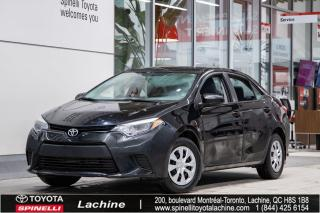 Used 2015 Toyota Corolla CE RÉGULATEUR DE VITESSE! BLUETOOTH! SUPER PRIX! FAITES VITE! for sale in Lachine, QC