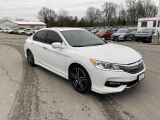 Used 2017 Honda Accord Sedan Sport 4dr FWD Sedan for sale in Brantford, ON