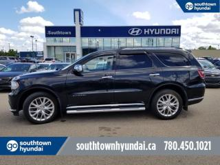 Used 2014 Dodge Durango CITADEL/AWD/6 PASS/BACKUP CAM/HEATED SEATS for sale in Edmonton, AB