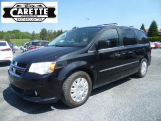Used 2014 Dodge Grand Caravan Crew stow n' go for sale in East broughton, QC