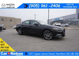 Used 2017 Mazda MAZDA6 GT | LEATHER | SUNROOF | NAV | BOSE | HEATED SEATS for sale in Hamilton, ON