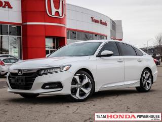 Used 2018 Honda Accord Touring | Navigation | Heated Seats | Moonroof | Keyless Entry for sale in Milton, ON