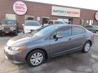 Used 2012 Honda Civic LX Accident Free & Automatic! for sale in North York, ON
