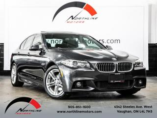 Used 2014 BMW 5 Series 528i xDrive|M-Sport|Navigation|Camera|Harman Kardon|Sunroof for sale in Vaughan, ON