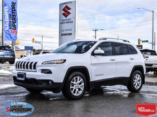 Used 2018 Jeep Cherokee North 4x4 ~Nav ~Cam ~Heated Seats/Wheel ~Autostart for sale in Barrie, ON