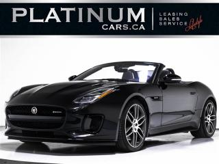 Used 2019 Jaguar F-Type Convertible Auto R-Dynamic AWD, NEW CAR, NAV, CAM for sale in Toronto, ON