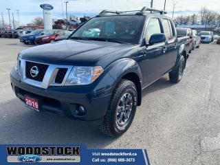 Used 2019 Nissan Frontier Crew Cab PRO-4X Standard Bed 4x4 Auto for sale in Woodstock, ON