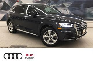 Used 2019 Audi Q5 2.0T Progressiv + Blind Spot | 360 Cam | Nav for sale in Whitby, ON
