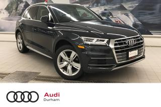Used 2019 Audi Q5 2.0T Technik + Vent Seats | Blind Spot | Loaded! for sale in Whitby, ON