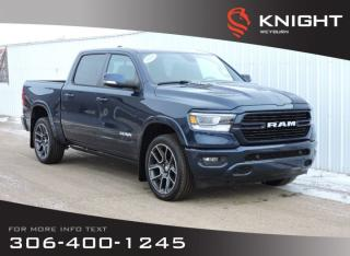 New 2020 RAM 1500 Laramie Sport Crew Cab 4x4 | Eco Diesel | Heated/Cooled Seats | Sunroof | NAV | Back-up Cam for sale in Weyburn, SK