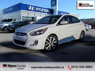 Used 2017 Hyundai Accent SE  - $87 B/W for sale in Kanata, ON