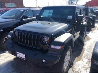 New 2020 Jeep Wrangler Sport S for sale in Concord, ON