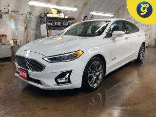 Used 2019 Ford Fusion Hybrid Titanium * Navigation * Letaher * Sunroof * Heated and a/c cooled front seats * Blind spot assist * Reverse camera with park assist * Downhill assist for sale in Cambridge, ON
