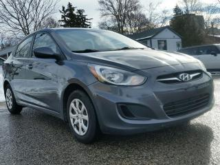 Used 2013 Hyundai Accent 4dr Sdn Auto GL for sale in Waterloo, ON