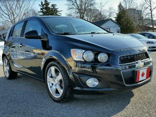 Used 2012 Chevrolet Sonic 5dr Hb Lt for sale in Waterloo, ON