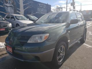 Used 2005 Mitsubishi Outlander LS for sale in Toronto, ON