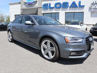 Used 2016 Audi A4 2.0T Technik plus quattro 6sp for sale in Ottawa, ON