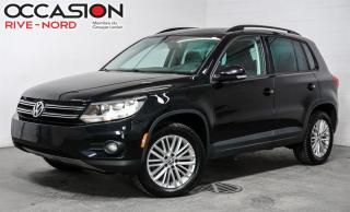 Used 2016 Volkswagen Tiguan SE 4motion MAGS+SIEGE.CHAUFFANTS+CAM.RECUL for sale in Boisbriand, QC