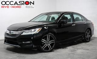 Used 2017 Honda Accord TOURING.- NAVIGATION+TOIT+CAM.RECUL+SIÈGES.CHAUF. for sale in Boisbriand, QC