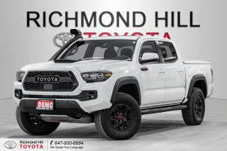 New 2019 Toyota Tacoma TRD Pro Package  - Navigation for sale in Richmond Hill, ON