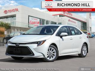 New 2020 Toyota Corolla XLE  - Navigation -  Sunroof - $77.32 /Wk for sale in Richmond Hill, ON
