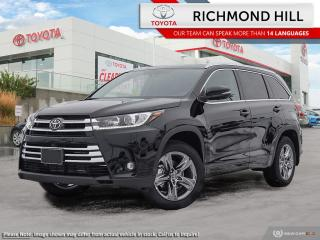 New 2019 Toyota Highlander Limited AWD  - Navigation - $145.66 /Wk for sale in Richmond Hill, ON