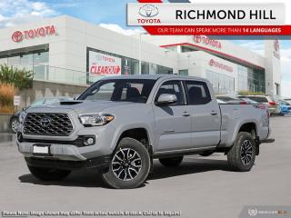 New 2020 Toyota Tacoma TRD Sport  - $125.57 /Wk - NO PAYMENTS FOR 6 MONTHS WHEN YOU FINANCE A NEW TOYOTA! for sale in Richmond Hill, ON
