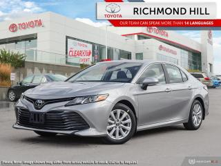 New 2020 Toyota Camry LE  -Demo only 1600 kms - $99.32 /Wk for sale in Richmond Hill, ON