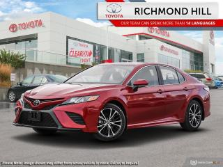 New 2020 Toyota Camry SE Upgrade  - Paddle Shifters - $122.27 /Wk for sale in Richmond Hill, ON