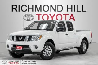 Used 2019 Nissan Frontier SV CREW CAB 4X4 for sale in Richmond Hill, ON