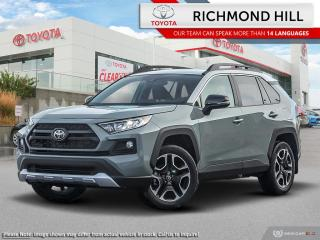 New 2020 Toyota RAV4 Trail  - Leather Seats -  Sunroof - $134.67 /Wk for sale in Richmond Hill, ON
